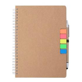 Cuaderno Set De Notas Espiralado Con Hojas Rayada Anotador