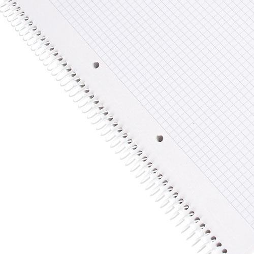 cuaderno tapa blanda rojo cuadriculado staples a4 pack x 10