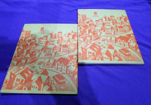 cuaderno torre vintage años 70