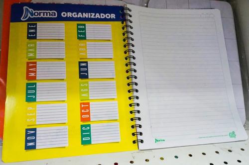 cuaderno universitario norma andaluz, 100 hojas