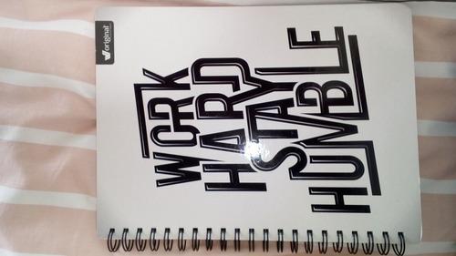 cuaderno universitario pasta dura 1linea 100h cuadernos