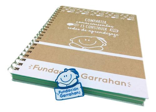 cuaderno universitario + pendrive 16 gb - fundación garrahan