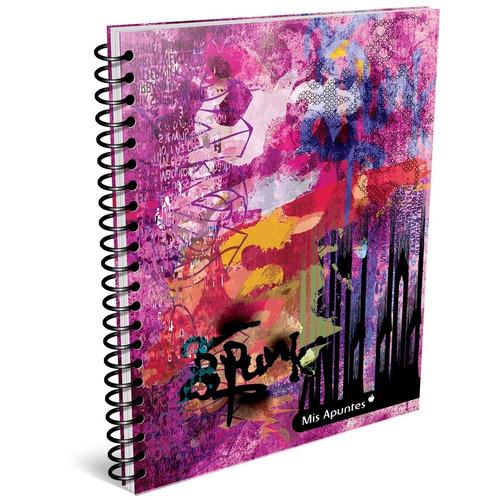 cuaderno universitario rayados pack x10 mis apuntes pop