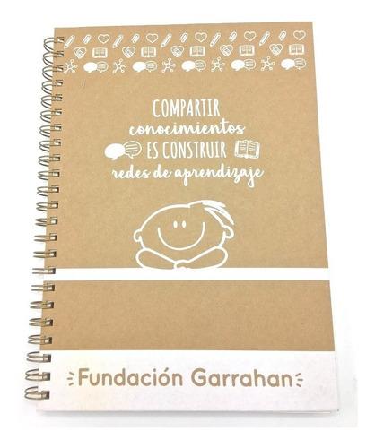 cuaderno universitario -tapa dura- fundación garrahan