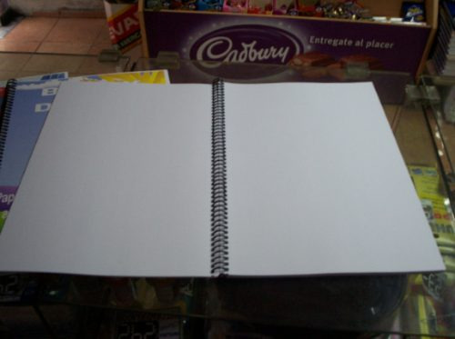 cuadernola lisa o block 70 hs tamaño a4