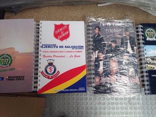 cuadernos agendas corporativos personalizado pasta dura 2016