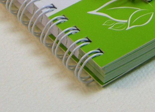 cuadernos agendas libretas en anillo metalico