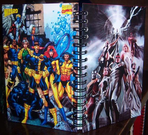 cuadernos anime manga comics personalizados desde $7.500