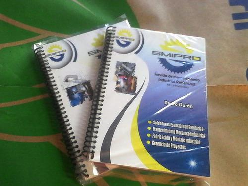 cuadernos corporativos material pop
