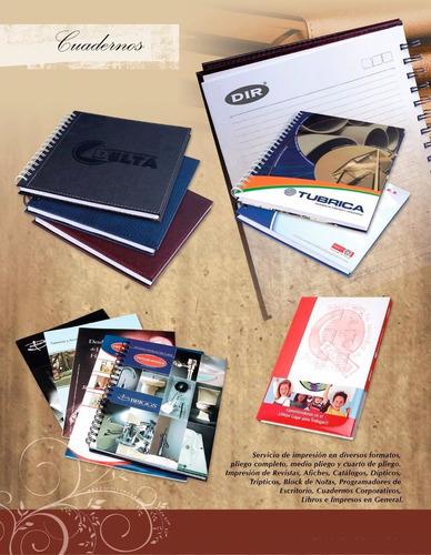 cuadernos corporativos (solo al mayor)