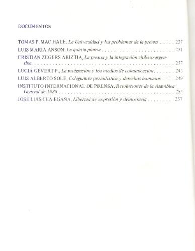 cuadernos de información - nº 3 / 1986.