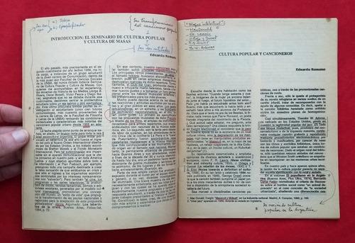 cuadernos de la comuna nº 23 - 1989 - horacio gonzález