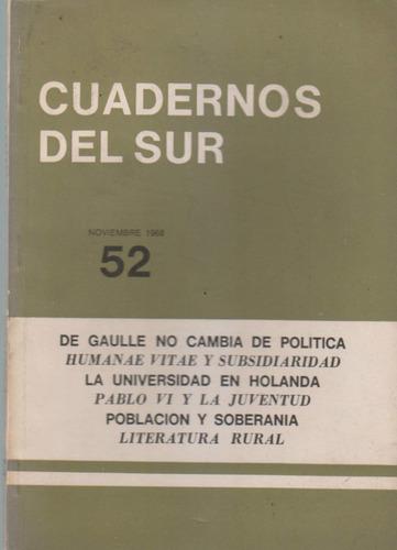 cuadernos del sur 52 nov 1968