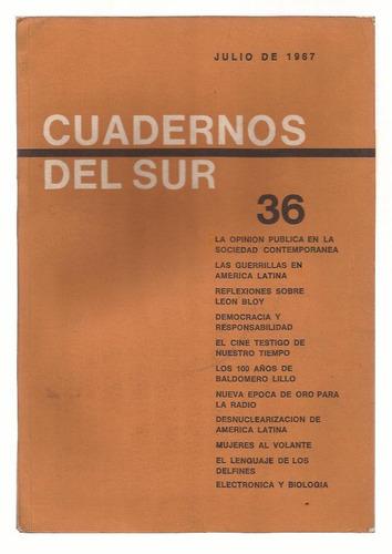 cuadernos del sur.nº 36 julio 1967 año iv