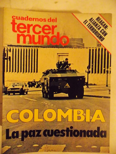 cuadernos del tercer mundo, política, nº 84