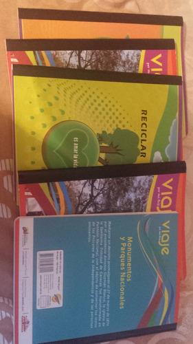 cuadernos empastados
