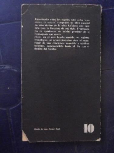 cuadernos en octava franz kafka