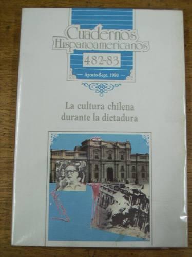 cuadernos hispanoamericanos 482-83 agost .- sep. 1990