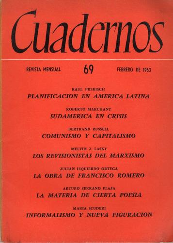 cuadernos nº 69 - revista mensual. febrero de 1963