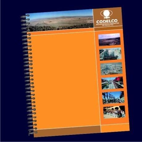 cuadernos publicitarios corporativos