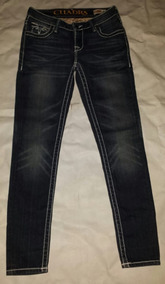 Talla 9 Dama Cuadra Pantalon Para Entubadon Strech 7fb6gy