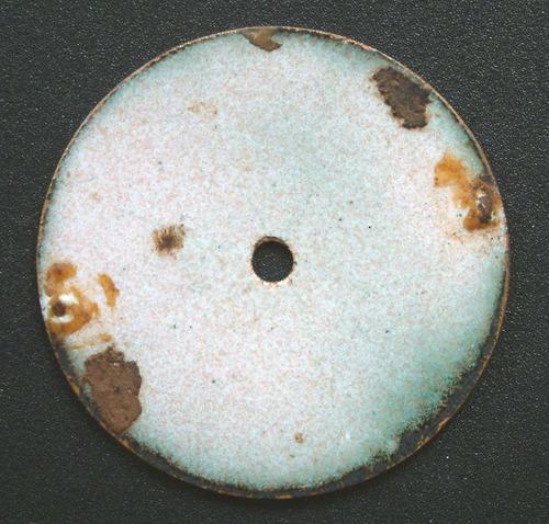 cuadrante esmaltado para reloj de bolsillo roskopf