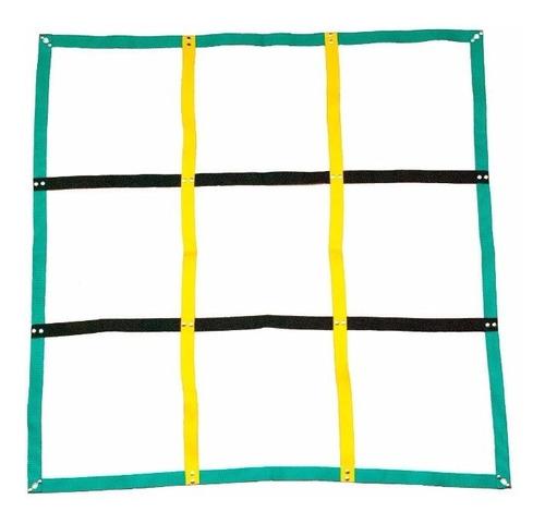 cuadrilatero de coordinación 9 cuadrados 40 x 40 cm saltos
