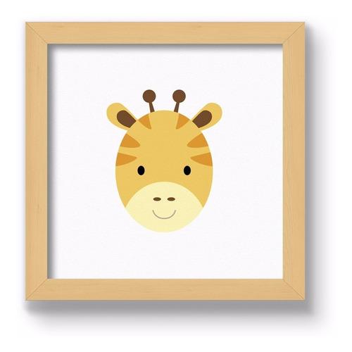cuadrito infantil / chicos / bebes. chato. jirafa