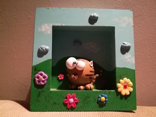 cuadritos infantiles en relieve para chicos / bebé 15x15cm