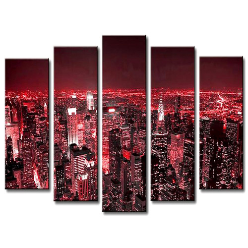 Cuadro 100x70 cm poliptico 5 piezas decorativos regalo for Donde puedo comprar cuadros decorativos