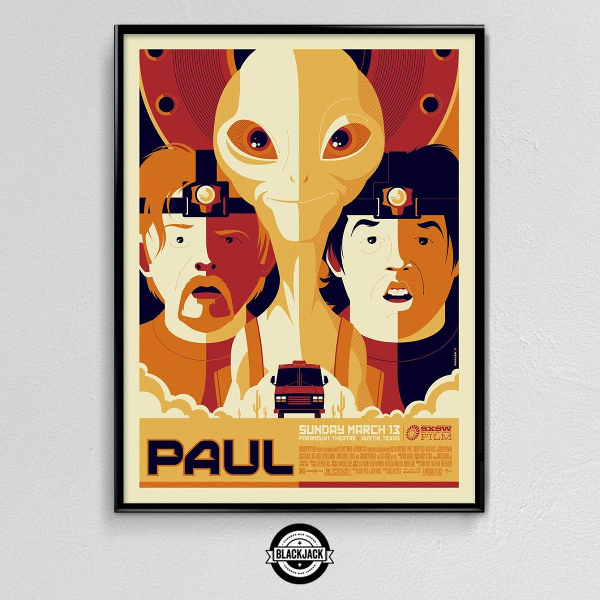 Cuadro 30x40 Marco Slim Paul Pelicula Cine Regalo Deco - $ 499,50 en ...