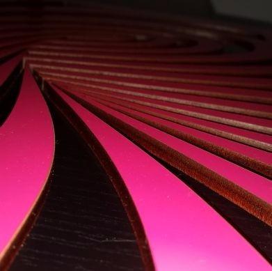 cuadro 3d panel decorativo en mdf 5m corte laser con vinilio