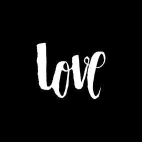 Cuadro 45x45cm Love Amor Frases Minimalista San Valentin