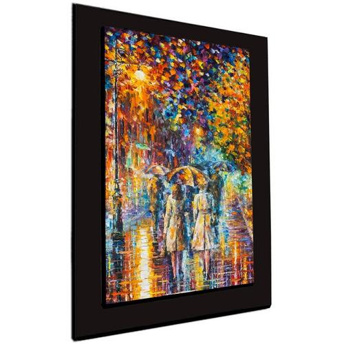 cuadro 60x40 cms decorativo tipo oleo camino 11+envío gratis
