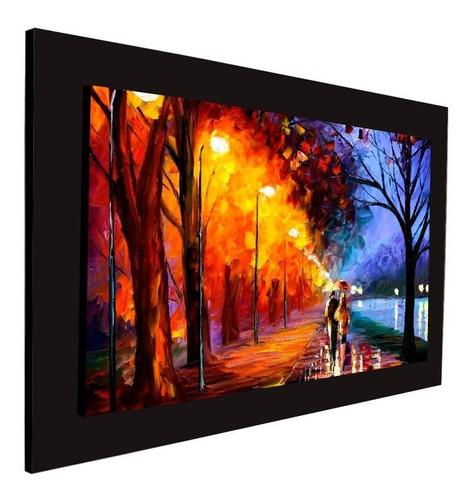cuadro 60x40 cms decorativo tipo oleo camino 16+envío gratis