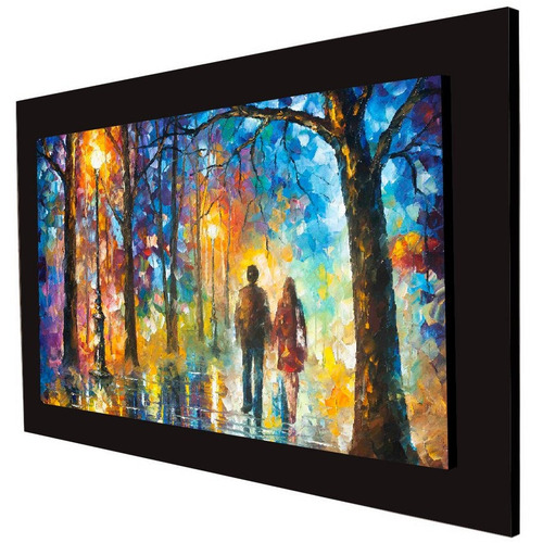 cuadro 60x40 cms decorativo tipo oleo camino 3+envío gratis