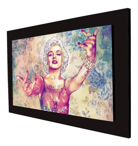 cuadro 60x40 cms monroe decorativo +envío gratis