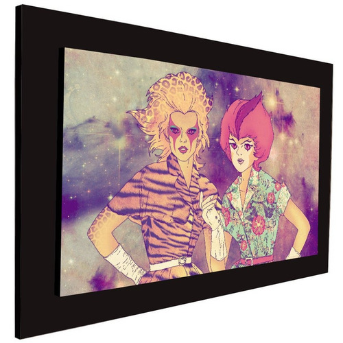 cuadro 60x40 cms thunder girls decorativo+envío gratis