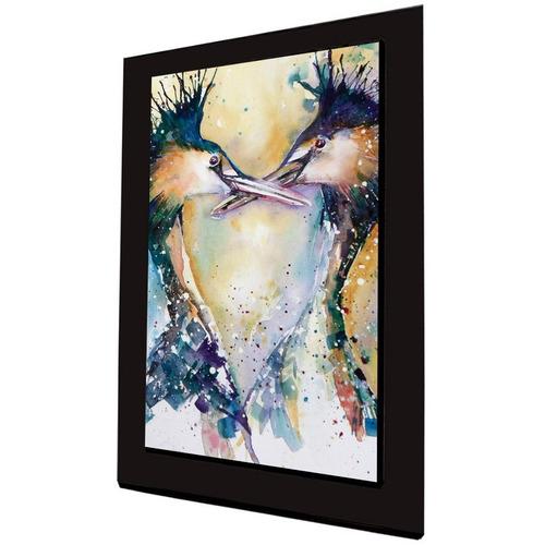 cuadro 60x40 cms tipo oleo ave2 decorativo+envío gratis