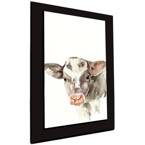 cuadro 60x40 cms tipo oleo vaca1 decorativo+envío gratis