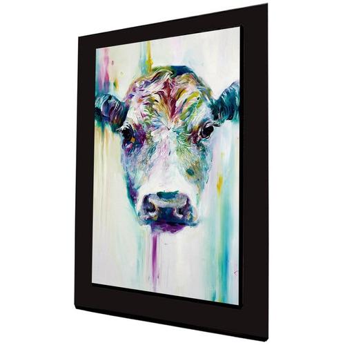 cuadro 60x40 cms tipo oleo vaca2 decorativo+envío gratis