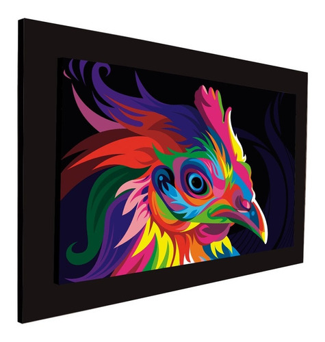 cuadro 60x40cms decorativo ave+envío gratis