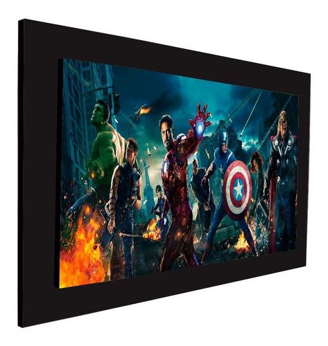 cuadro 60x40cms decorativo avengers 3!!!+envío gratis