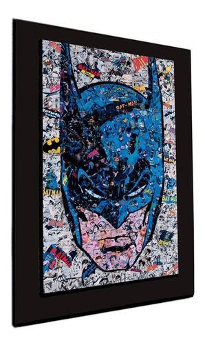 cuadro 60x40cms decorativo batman collage2+envío gratis