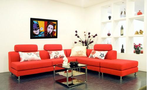 cuadro 60x40cms decorativo batman hellokitty+envío gratis