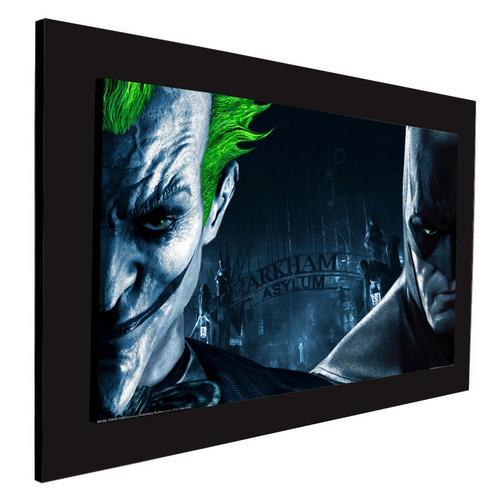cuadro 60x40cms decorativo batman & joker!!!+envío gratis