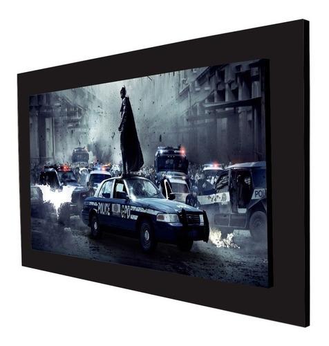 cuadro 60x40cms decorativo batman & policia!!+envío gratis