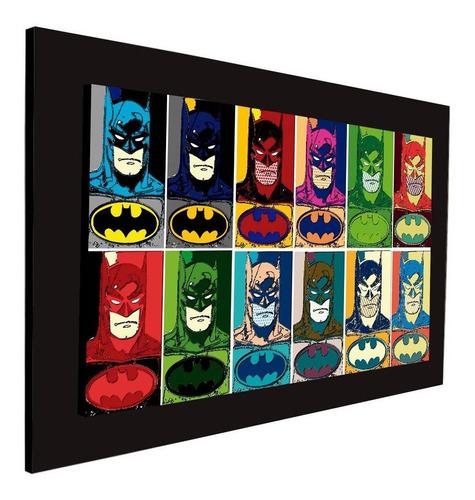 cuadro 60x40cms decorativo batman popart+envío gratis