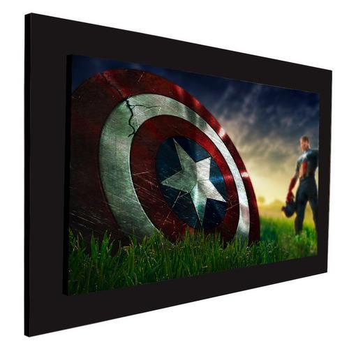 cuadro 60x40cms decorativo captain america 1!+envío gratis