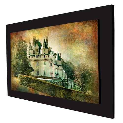 cuadro 60x40cms decorativo castillo francia 2+envío gratis
